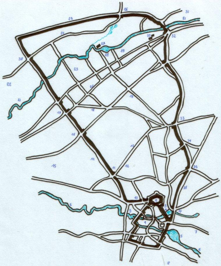 L'automate des 7 vallées Plan