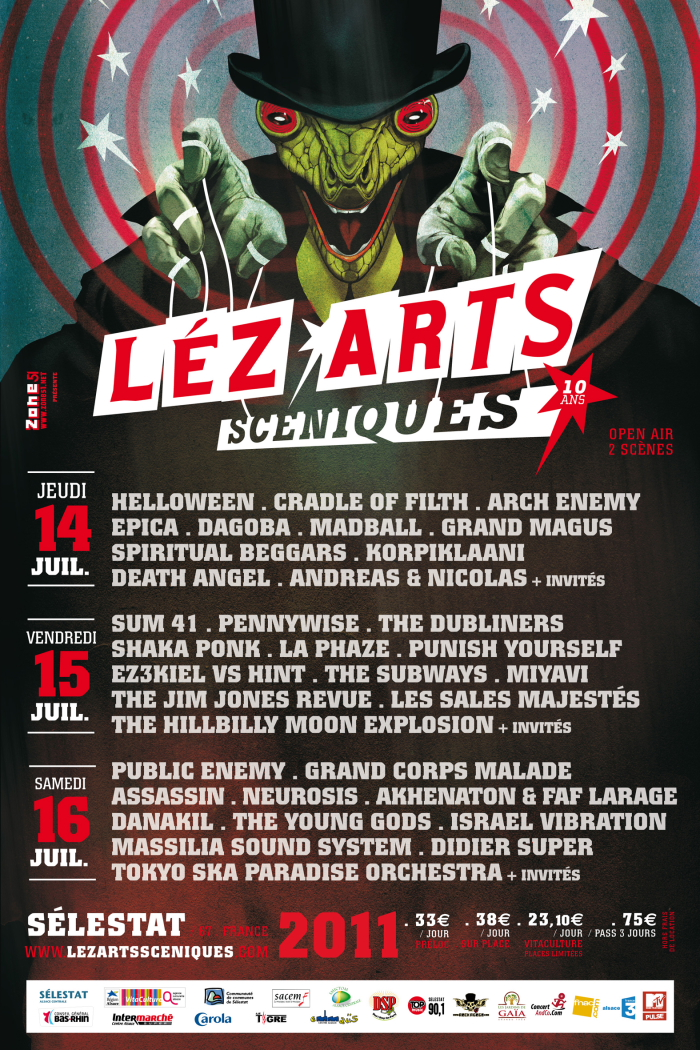 Festival Léz'Arts Scéniques-14-15-16/07/11 Sélestat (Alsace) Affiche_lezartssceniques2011_bd