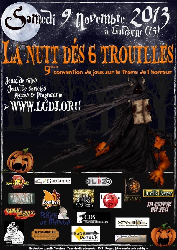 La 9ème Nuit Dés 6 Trouilles !!! 2013_nd6t_affiche_web