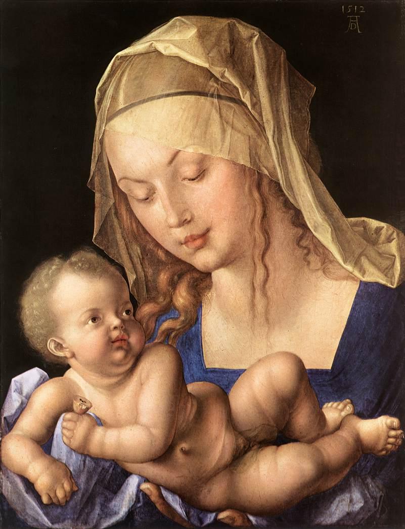 Michelangelo Buonarroti  9511-madonna-of-the-pear-albrecht-d-rer