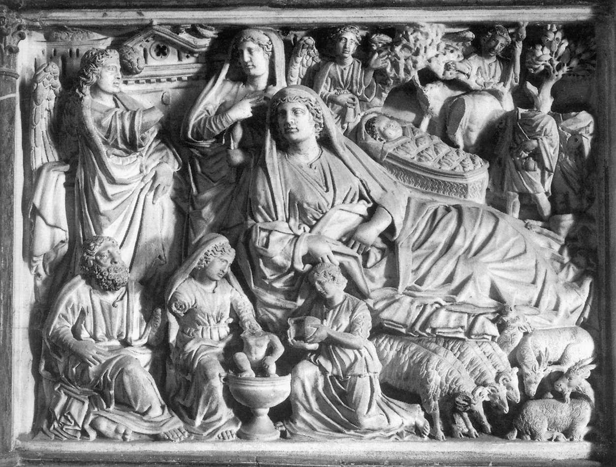 Nicola Pisano 19394-annunciation-birth-of-jesus-and-ad-nicola-pisano
