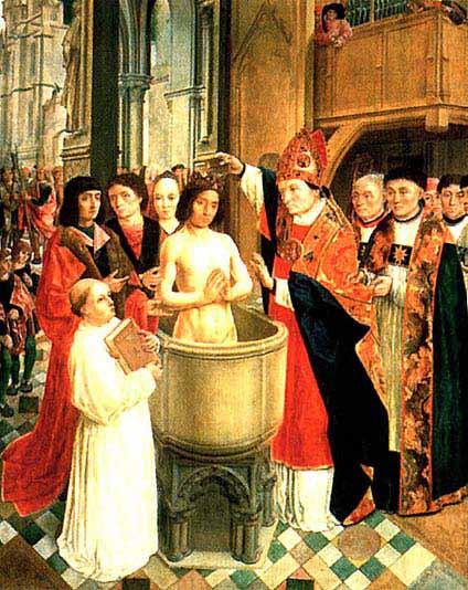 un ami va recevoir le saint Bapteme Bapteme%20clovis