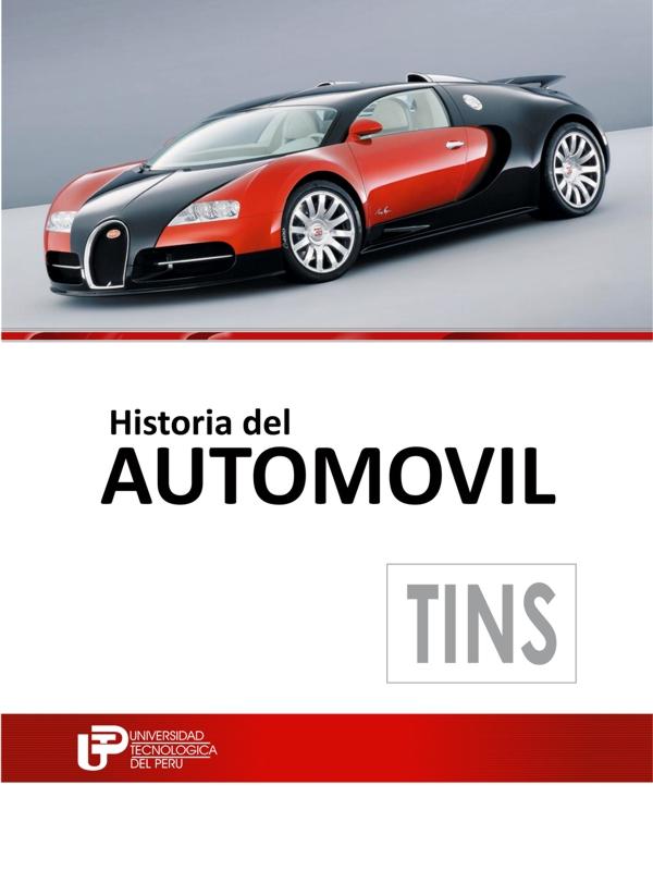 Historia del automóvil - Universidad Tecnológica del Perú - varios formatos digitales Portada