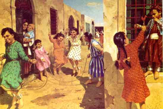 لوحات تراثية ليبية Abeida4
