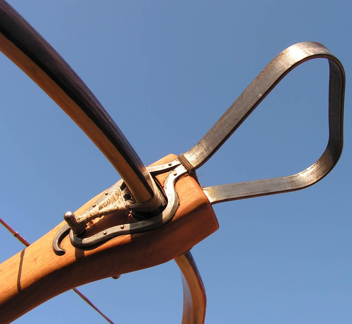 Medieval stirrup crossbow 22