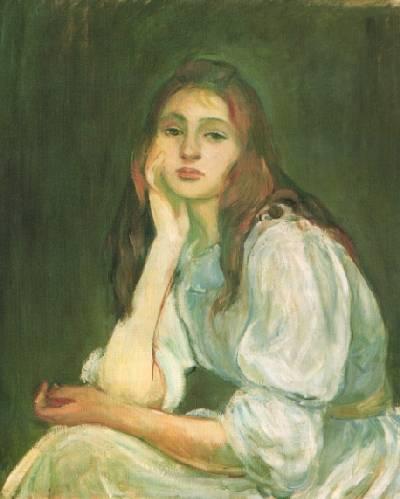Berthe Morisot Morisot_julie-dreaming