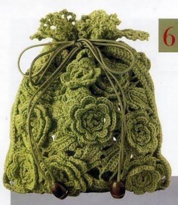 شنط كروشية بالباترون Crochet-bag-beginners