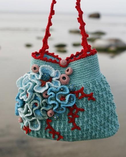 شنط كروشية بالباترون Crochet-bag-pinterest