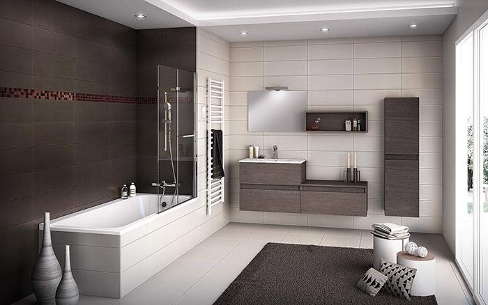 ديكورات حمامات Salle-de-bain-moderne-4