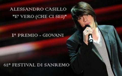 FESTIVAL DI SANREMO 2012: I CANTANTI - LE CANZONI - I TESTI - Pagina 2 Alessandro-Casillo-480x302
