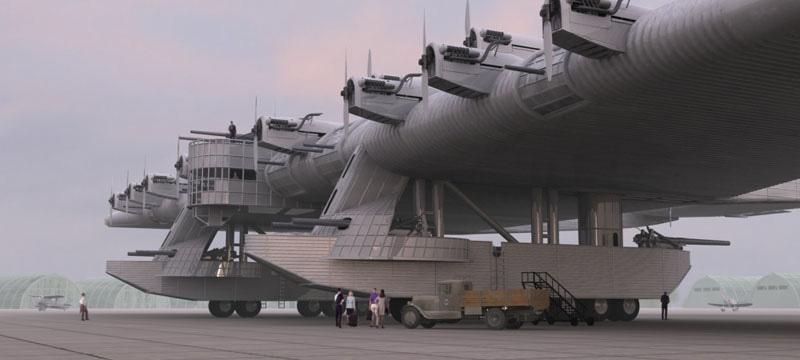 L'aéronef le plus étrange selon vous Kalinin-K-7
