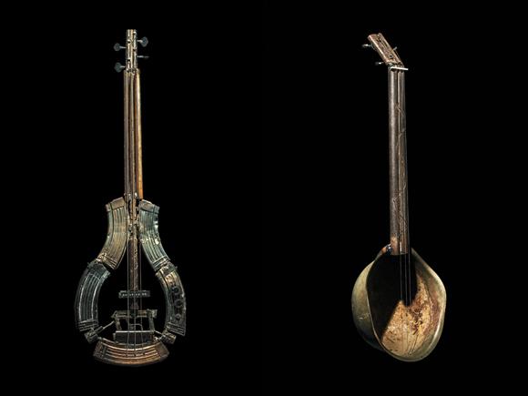 Stari muzicki instrumenti Musical-instruments-made-from-weapons-by-Pedro-1