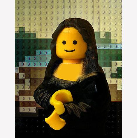 Razne Mona Lize Lego-Disguise-Mona-Lisa