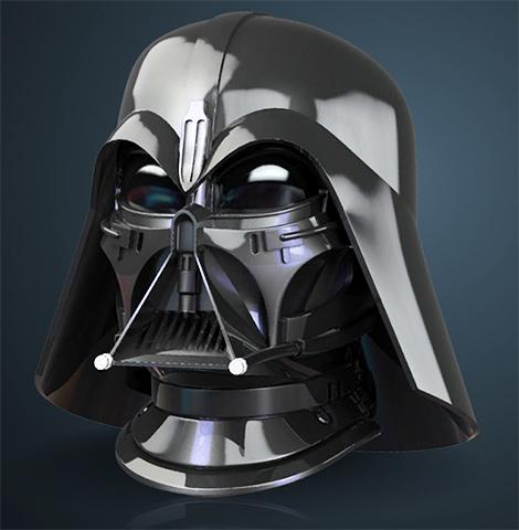 Efx - Darth Vader helmet - Ralph MC QUARRIE concept Darth-Vader-Concept-Helmet