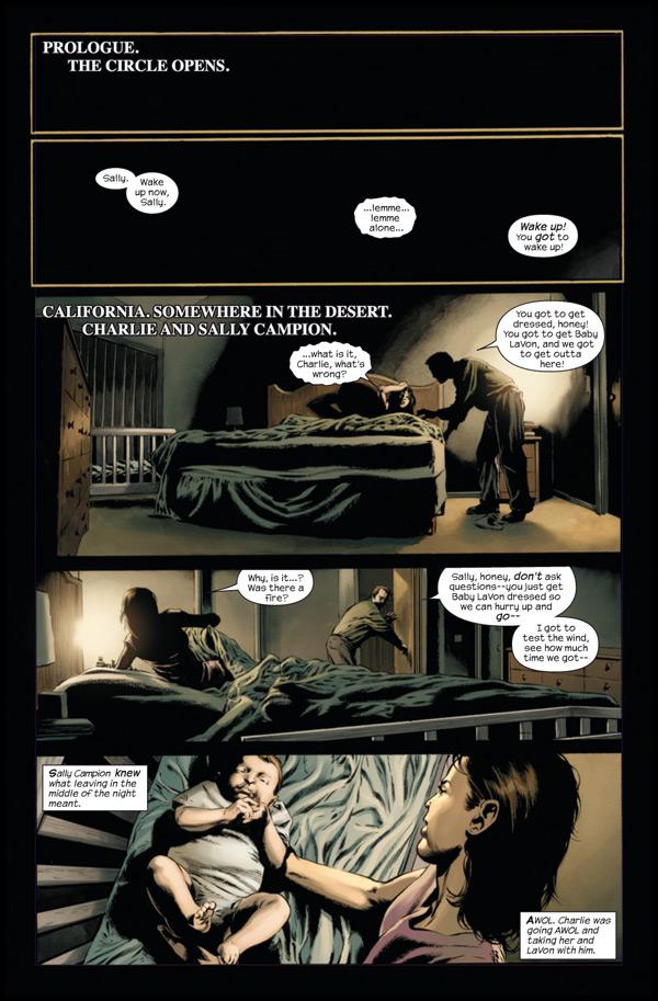 LE FLEAU, en BD, par Marvel Standpreview-1