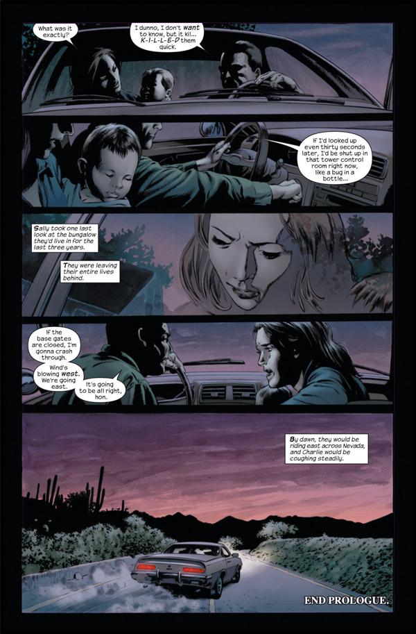LE FLEAU, en BD, par Marvel Standpreview-3