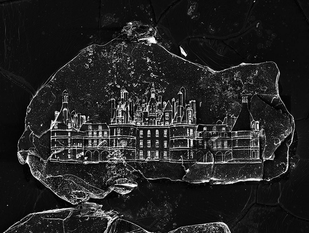 Vik Muniz - un castello in un granello di sabbia Castello-granello-microscopio
