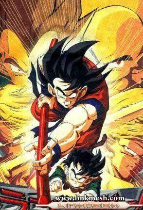 Las transformaciones de Goku Goku_luchando_de_frente
