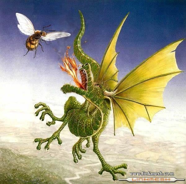 Solamente Impresionantes Dragones Ataque_dragon_verde