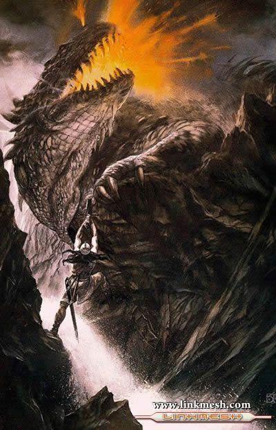 Solamente Impresionantes Dragones Batalla_gris