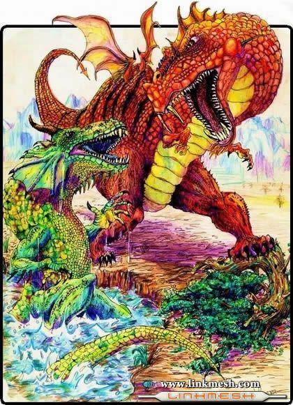Solamente Impresionantes Dragones Dinosaurios