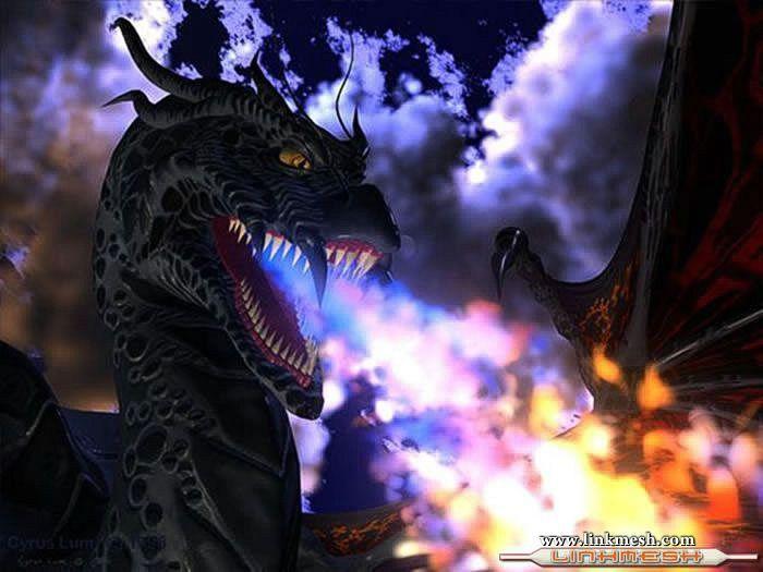 Solamente Impresionantes Dragones Dragon_azul