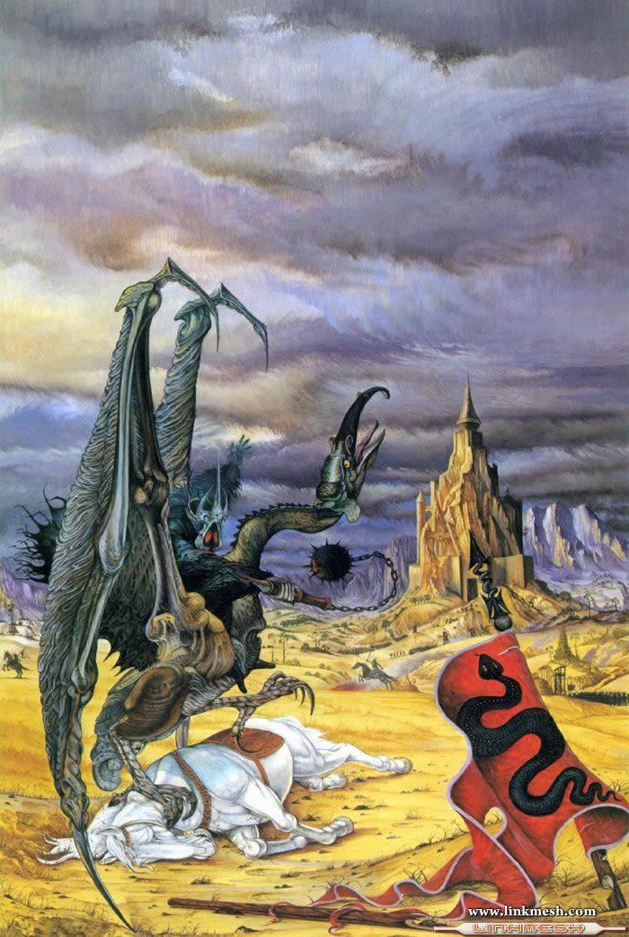 Solamente Impresionantes Dragones Dragon_de_tolkien