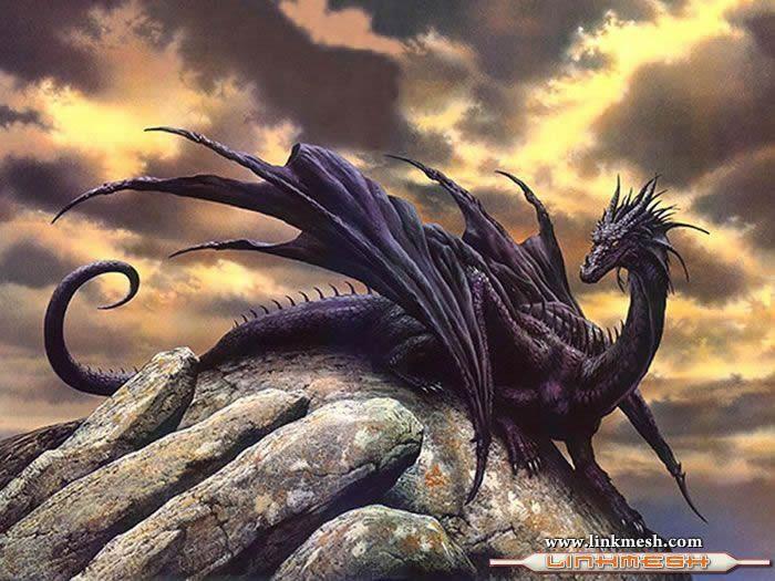 Solamente Impresionantes Dragones Dragon_negro