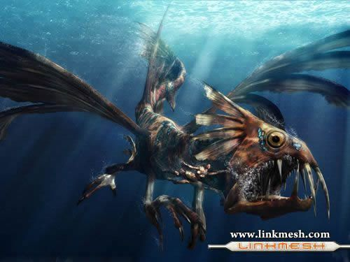 Solamente Impresionantes Dragones Dragon_pirana