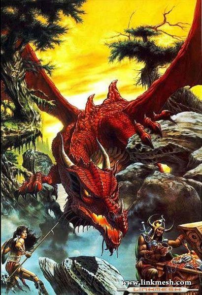 Solamente Impresionantes Dragones Dragon_rojo