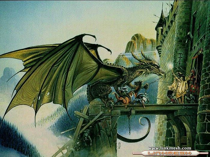 Solamente Impresionantes Dragones Dragon_verde
