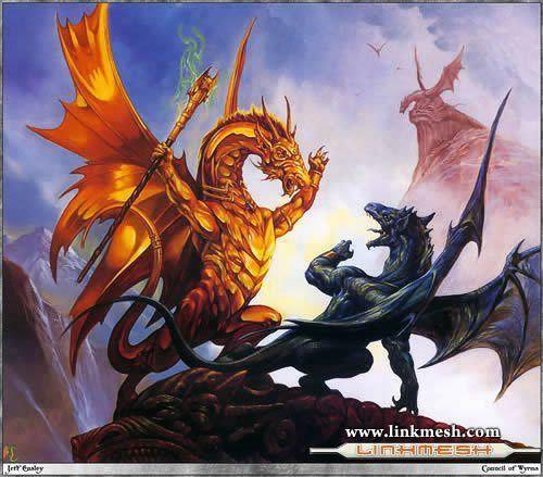 Solamente Impresionantes Dragones Dragones_dioses_reyes