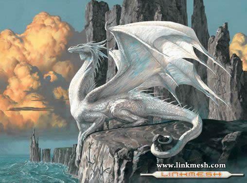 Solamente Impresionantes Dragones El_dragon_blaco