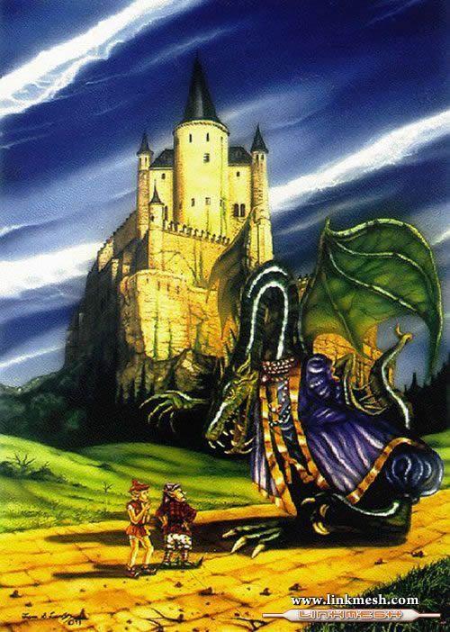 Solamente Impresionantes Dragones El_dragon_mago