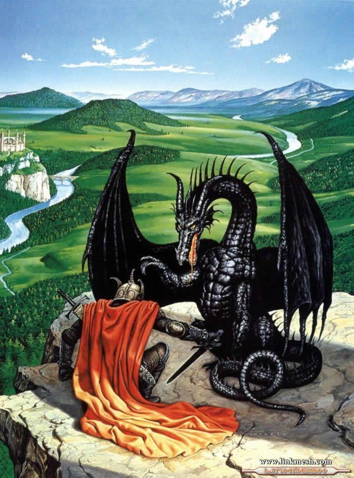 Solamente Impresionantes Dragones El_duelo