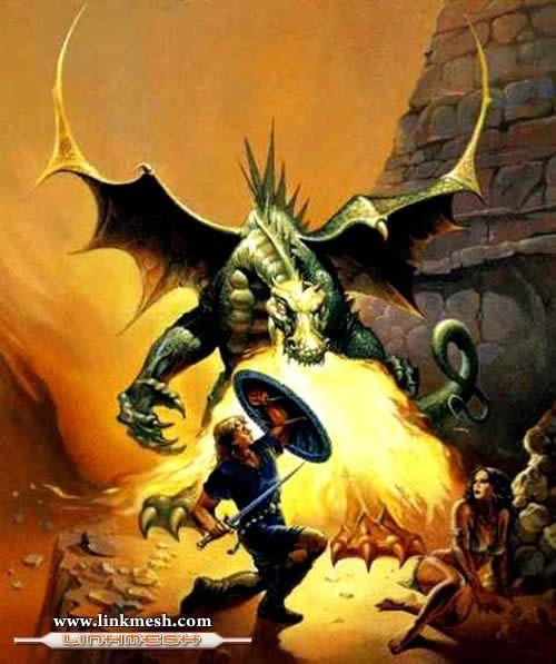 Solamente Impresionantes Dragones El_escudo_del_dragon