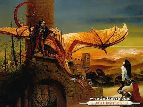 Solamente Impresionantes Dragones El_viento_y_el_dragon
