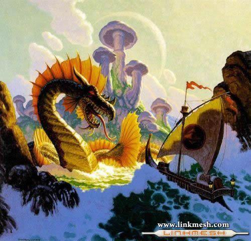 Solamente Impresionantes Dragones En_el_mar