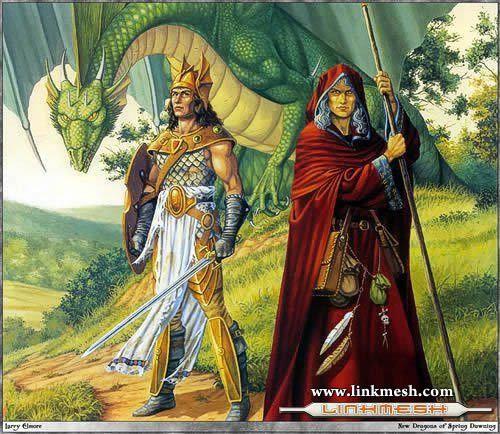 Solamente Impresionantes Dragones Hermanos_majere