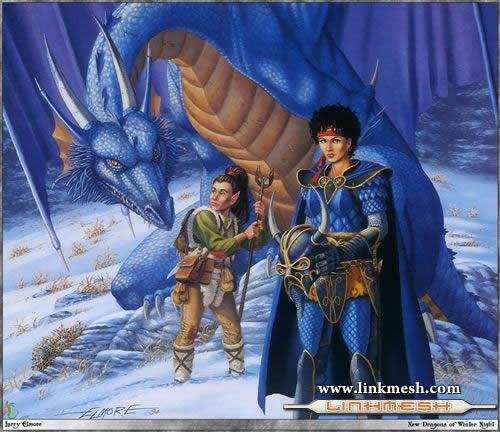 Solamente Impresionantes Dragones Kiatara_y_el_dragon_azul