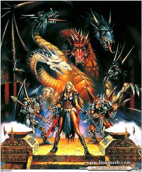 Solamente Impresionantes Dragones La_diosa_de_los_dragones