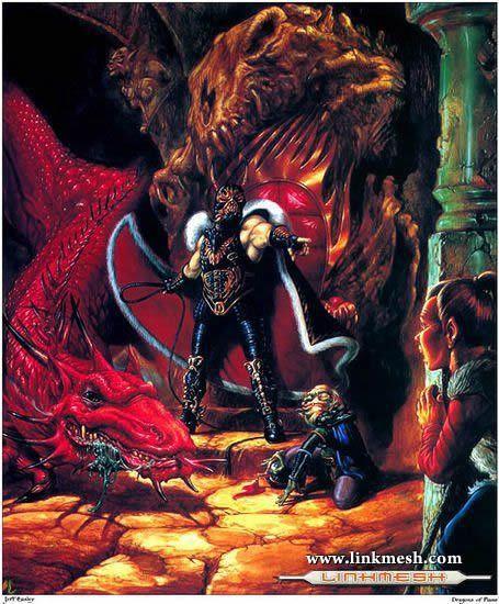 Solamente Impresionantes Dragones La_guarida_del_dragon_rojo