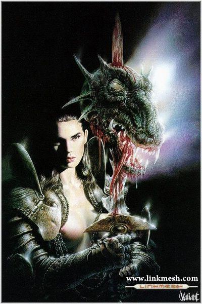 Solamente Impresionantes Dragones La_guerrera