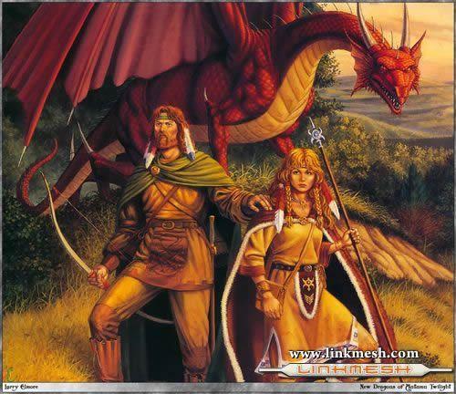 Solamente Impresionantes Dragones La_leyenda_de_la_lanza