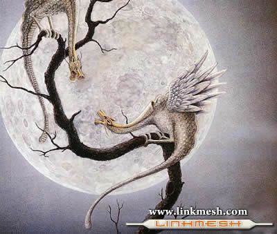 Solamente Impresionantes Dragones La_luna_del_dragon
