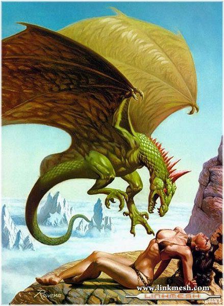 Solamente Impresionantes Dragones La_presa_del_dragon