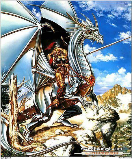 Solamente Impresionantes Dragones La_reina_de_los_dragones