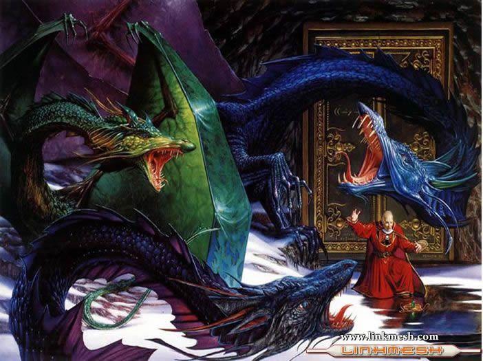 Solamente Impresionantes Dragones Los_dragones