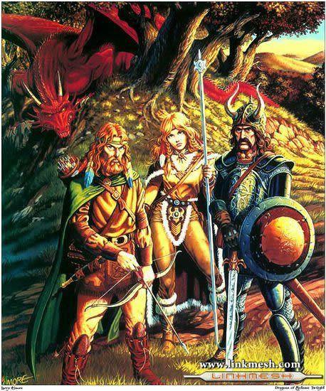 Solamente Impresionantes Dragones Los_heroes_de_la_lanza