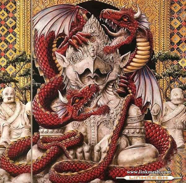 Solamente Impresionantes Dragones Monumento_dragones